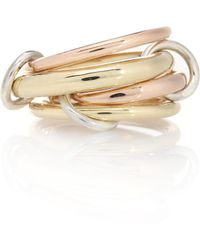 Spinelli Kilcollin Ring Rain aus 18kt Gelbgold und 18kt Roségold - Mettallic