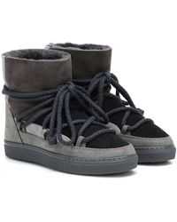 Inuikii - Stivaletti sneakers in suede - Lyst
