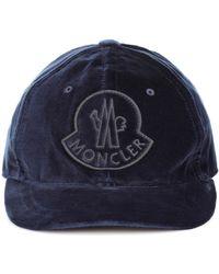 Moncler - Velvet Cap - Lyst