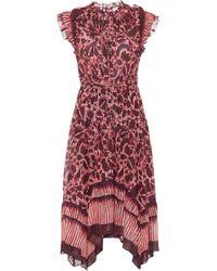 Ulla Johnson Amalia Cotton-blend Maxi Dress - Red