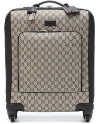 Gucci Handgepäckkoffer aus GG Supreme - Mehrfarbig