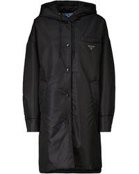 Prada Nylon Raincoat - Black