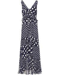 Diane von Furstenberg Vestido Misha de seda estampado - Azul