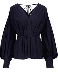 ROKSANDA Blouse Colette en coton - Bleu