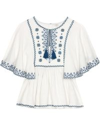 Talitha - Cotton Anya Top - Lyst