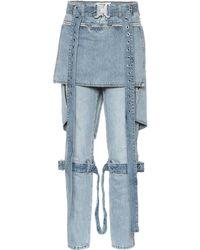 1017 ALYX 9SM Jeans Punk con adornos - Azul