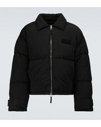 Jacquemus La Doudoune Flocon Puffer Jacket - Black