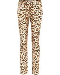 Roberto Cavalli Jeans skinny estampados - Neutro