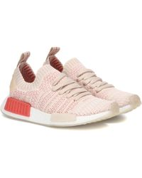 adidas Originals - Nmd_r1 Rubber-trimmed Primeknit Sneakers - Lyst