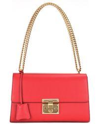 Gucci - Padlock Leather Shoulder Bag - Lyst