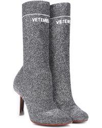 Vetements - Lighter-heel Sock Ankle Boots - Lyst