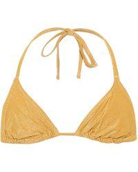 Solid & Striped Bikini-Oberteil The Iris - Gelb