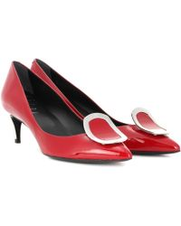 Roger Vivier - Pumps Chips aus Lackleder - Lyst