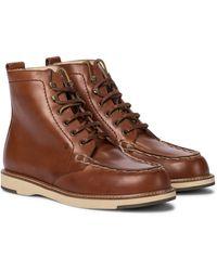 Tod's Ankle Boots aus Leder - Braun