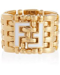 Fendi Ring FF - Mettallic