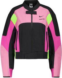 Nike X AMBUSH Jacke Motorcycle - Pink