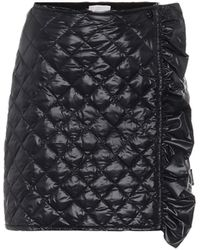 Moncler Quilted High-rise Skirt - Black