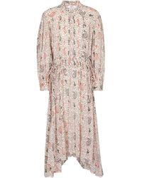 Étoile Isabel Marant Ariana Paisley Cotton Midi Dress - Multicolour