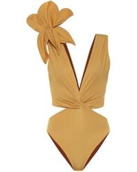Johanna Ortiz Old Smoky Moonshine Swimsuit - Yellow