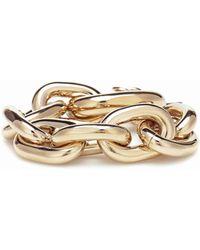 Paco Rabanne Oversized Chain-link Bracelet - Metallic