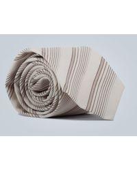 Éditions MR Krawatte mit Diagonalstreifen - Mehrfarbig