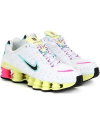 Nike 'Shox' Sneakers - Weiß
