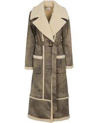 Jonathan Simkhai Briar Faux Leather Coat - Brown