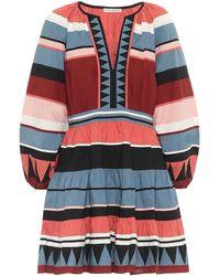 Ulla Johnson Mika Striped Cotton Minidress - Multicolor