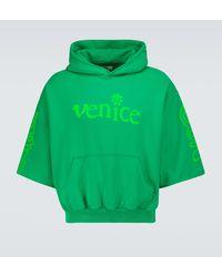 ERL Venice Short-sleeved Sweatshirt - Green