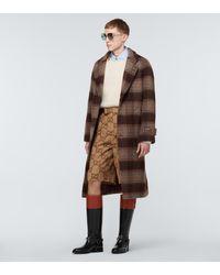 Gucci Shorts Jumbo GG aus Canvas - Natur