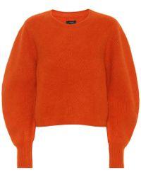 Isabel Marant Pullover Swinton in cashmere - Arancione