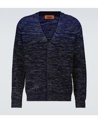 Missoni Cardigan in misto lana - Blu