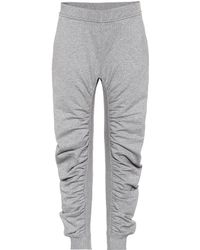 Stella McCartney Cotton Trackpants - Grey