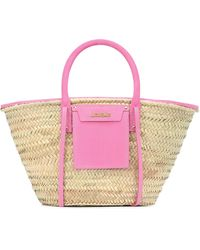 Jacquemus Soleil Raffia Handbag - Natural