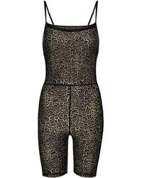 The Upside Leopard-print Jumpsuit - Brown
