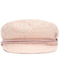 Maison Michel New Abby Hat - Pink