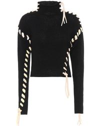 Acne Studios Wool Turtleneck Sweater - Black