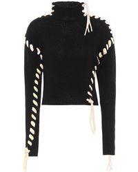 Acne Studios Wool Turtleneck Sweater - Black