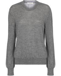 The Row Pullover Islington in cashmere - Grigio