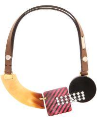 Marni - Crystal-embellished Necklace - Lyst