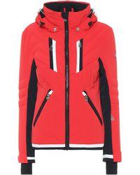 Toni Sailer Veste de ski Henni à capuche - Rouge