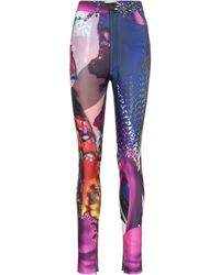 Maison Margiela Printed Technical Jersey Trousers - Multicolour