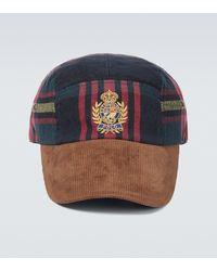 Polo Ralph Lauren Corduroy Plaid Baseball Cap - Multicolour