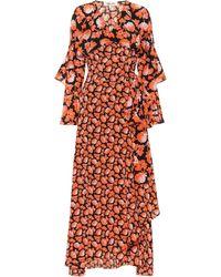 Diane von Furstenberg Vestido wrap Alice de seda floral - Multicolor