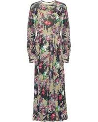 ROTATE BIRGER CHRISTENSEN Floral Maxi Dress - Multicolour