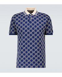 Gucci Poloshirt - Blau