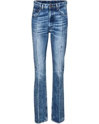 Maison Margiela High-rise Slim Jeans - Blue