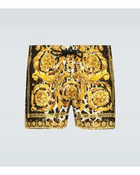 Versace Short de bain à imprimé Baroque - Multicolore