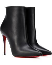 Christian Louboutin Ankle Boots So Kate 100 - Schwarz
