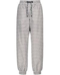 Fendi Pantalones de chándal FF - Blanco